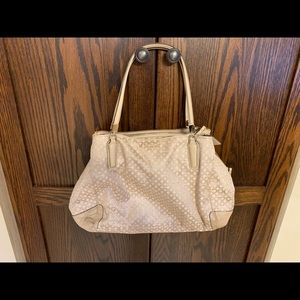 Coach Edie shoulder tote